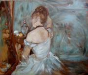Dressing Room Paintings - Boudoir  by Darlene LeVasseur Melendez