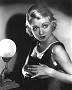1930s Hairstyles Framed Prints - Bought, Constance Bennett, 1931 Framed Print by Everett