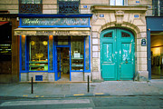 Paris Digital Art Prints - Boulangerie du Marais Print by John Galbo