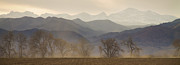 Wildfires Framed Prints - Boulder County Colorado Layers Panorama Framed Print by James Bo Insogna