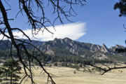Colorado Front Range Photos - Boulder Front Range Green Mountain and Flatirons by Brendan Reals