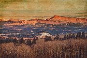 Boulder Mountain Summit Overlook Print by Carolyn Rauh