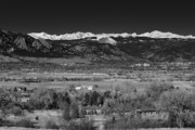 Snow Capped Originals - Boulder Overlook by Marilyn Hunt