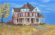 Brick Paintings - Boulder Victorian by Jerry McElroy