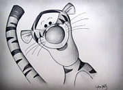 The Tiger Drawings - Bouncy Trouncy by Lynsie Petig