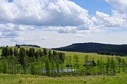 Farmlife Photos - Boundary Ranch Scenic by John  Greaves