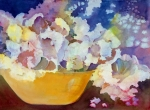 Blooming Paintings - Bouquet Impressions  by Pamela Goedhart