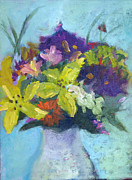 SharonJoy Mason - Bouquet with Yellow...
