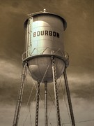 Hooch Prints - Bourbon Print by Jane Linders