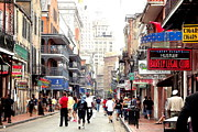 Charters Photos - Bourbon Street #1 by Jackie Jackson