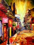 Bourbon Street Dazzle Print by Diane Millsap