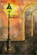 Catherine Wilson - Bourbon Street Lamp Post...