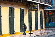 Ledaphotography.com Photo Posters - Bourbon Street Morning Poster by Leslie Leda