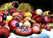 Bouys Paintings - Bouyed Up by Ilene Paulsen