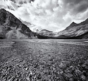 White River Scene Prints - Bow Creek Black & White Print by Paul Bruins Photography
