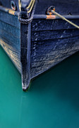 Docked Boat Prints - Bow of Wooden Ship Print by Jill Battaglia