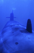 Submerge Photos - Bow View Of The Uss Kamehameha by Michael Wood
