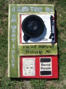 Bowie Mixed Media - Bowie - I Am The DJ by Mojo Goat