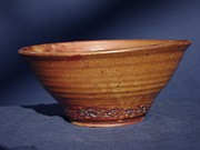 Bowl With Texture Print by Rick Ahlvers