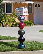 Kelley King Digital Art Prints - Bowlers mailbox Print by Kelley King