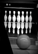 Indoor Sport Framed Prints - Bowling 2 Framed Print by Edward Myers