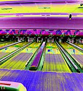 Bowling Digital Art - Bowling Alley by Peter  McIntosh