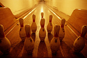 Bowling Alley Prints - Bowling Alley Print by Tim Bieber