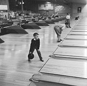 Bowling Alley Prints - Bowling Boy Print by Carsten