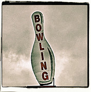 Bowling Metal Prints - Bowling Metal Print by Photograph by Bob Travaglione FoToEdge