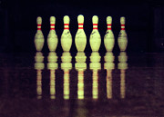 Austria Photo Posters - Bowling Pins Poster by Christoph Hetzmannseder