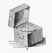 Precise Prints - Box Chronometer Print by Science Source