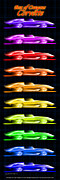 Show Car Corvettes - Box of Crayons Corvette by K Scott Teeters