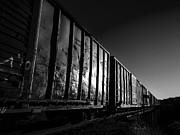 Boxcar Sunrise Print by Bob Orsillo