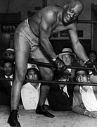 Boxer Jack Johnson, Ca. 1910s Print by Everett
