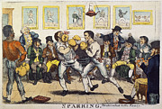 Spectator Prints - BOXING, 19th CENT Print by Granger