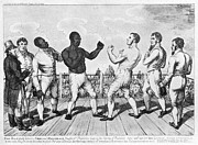 Boxing Framed Prints - BOXING: CRIBB v. MOLINEAUX Framed Print by Granger