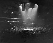 Madison Square Garden Prints - Boxing Match, 1941 Print by Granger