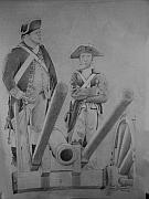 Revolutionary War Originals - Boy and Cannon by Ronald Welch