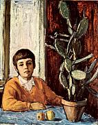 Dionisii Donchev - Boy with a cactus