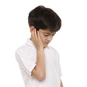 10:11 Prints - Boy With Earache Print by