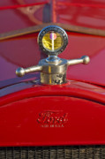 Hoodies Photo Framed Prints - Boyce MotoMeter Hood Ornament Framed Print by Jill Reger