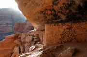 Boynton Canyon Prints - Boynton Canyon Ruins Print by David Sunfellow
