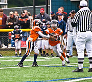 Susan Leggett Photo Metal Prints - Boys Football Metal Print by Susan Leggett