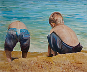 Chuck Gebhardt - Boys On A Beach
