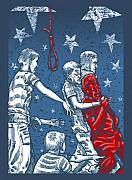 Psychology Mixed Media Prints - Boys will be boys Print by Baird Hoffmire