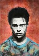 Celeb Art - Brad Pitt by Cassius Cassini