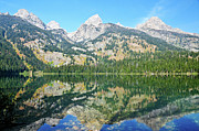 Grand Teton Framed Prints - Bradley Reflections Framed Print by Greg Norrell