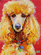 Custom Dog Portrait Paintings - Brady by Sarah Gayle Carter