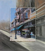 Hardware Shop Prints - Brady Street - Hardware layered Print by Anita Burgermeister