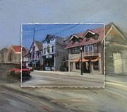 Milwaukee Originals - Brady Street - Up and Under layered by Anita Burgermeister